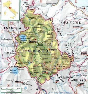 Cartina Fisica Umbria Da Stampare.Piantine Di Cada Regione Freeforumzone
